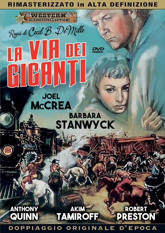 LA VIA DEI GIGANTI (DVD)