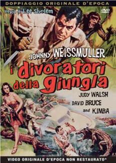 I DIVORATORI DELLA GIUNGLA (DVD)