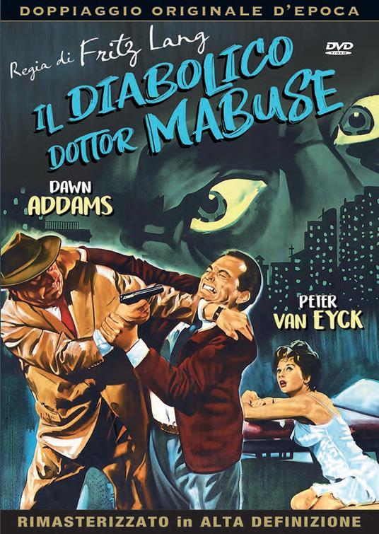 IL DIABOLICO DOTTOR MABUSE (DVD)