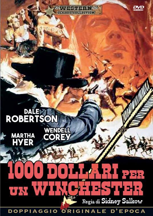 1000 DOLLARI PER UN WINCHESTER (DVD)
