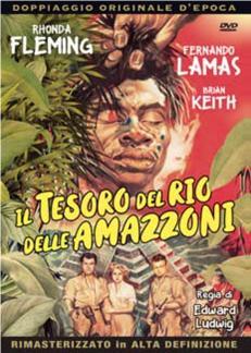 IL TESORO DEL RIO DELLE AMAZZONI (DVD)