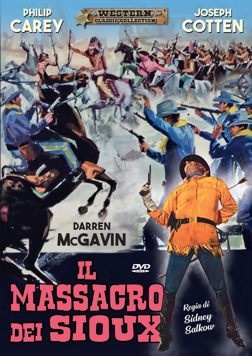 IL MASSACRO DEI SIOUX (DVD)