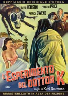 L'ESPERIMENTO DEL DOTTOR K (DVD)