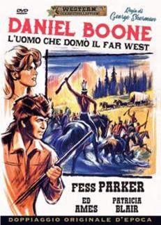 DANIEL BOONE - L'UOMO CHE DOMO' IL FAR WEST (DVD)