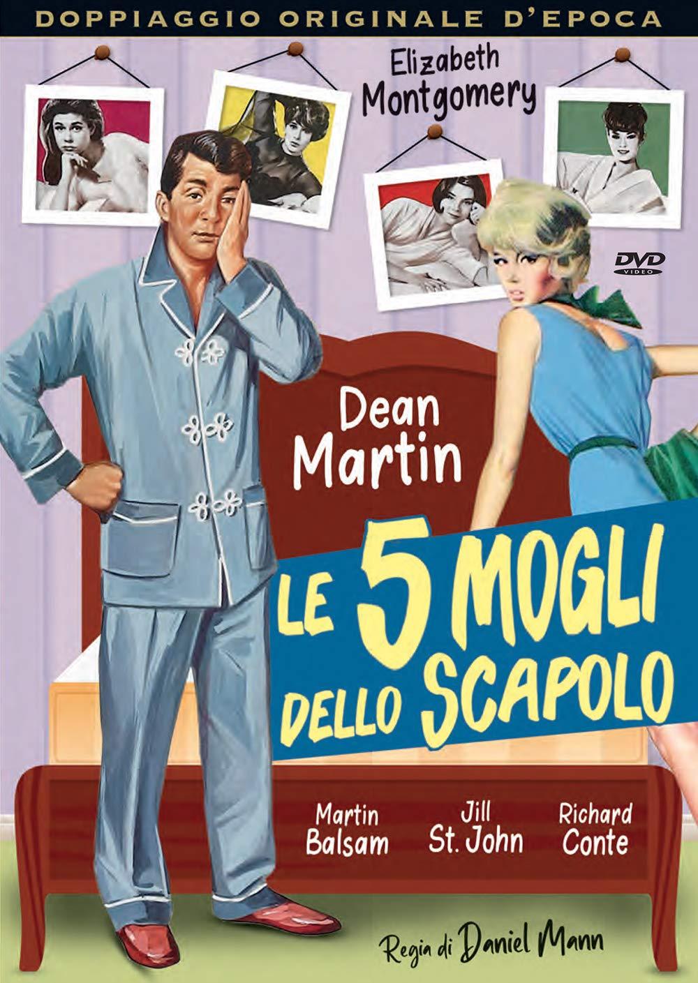 LE 5 MOGLI DELLO SCAPOLO (DVD)