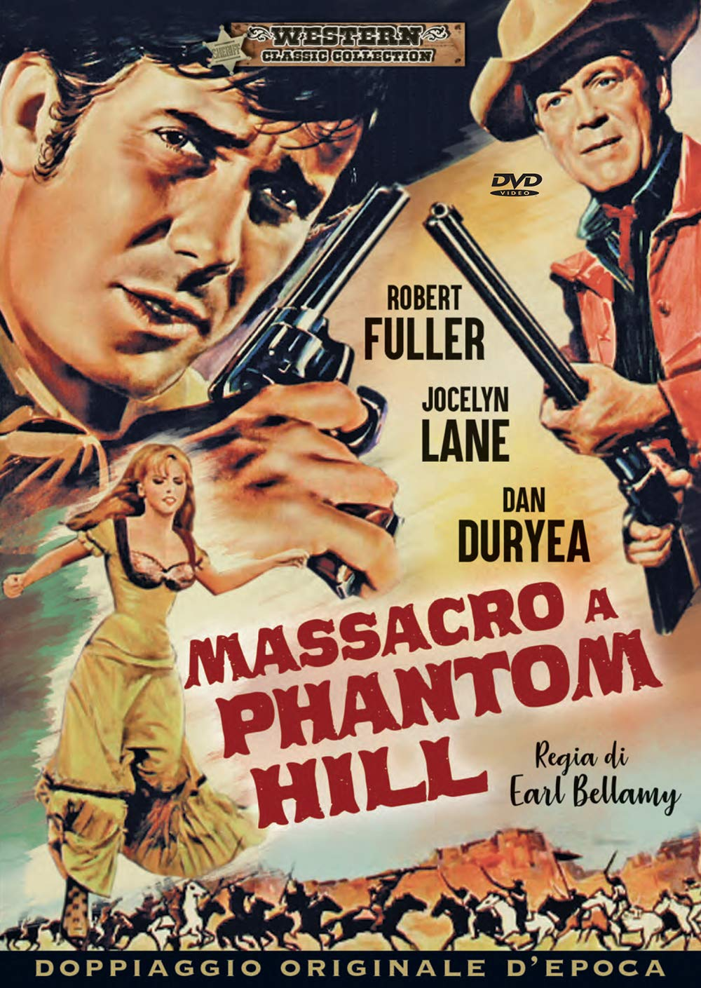 MASSACRO A PHANTOM HILL (DVD)
