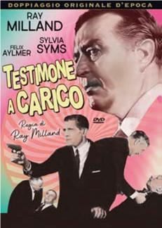 TESTIMONE A CARICO (DVD)