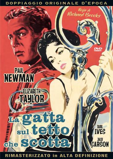 LA GATTA SUL TETTO CHE SCOTTA (DVD)