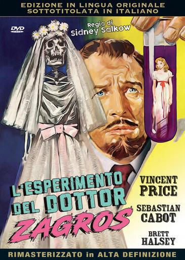 L'ESPERIMENTO DEL DOTTOR ZAGROS (DVD)