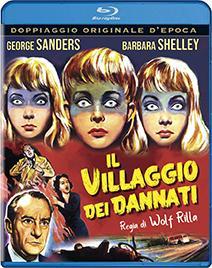 IL VILLAGGIO DEI DANNATI - BLU RAY -
