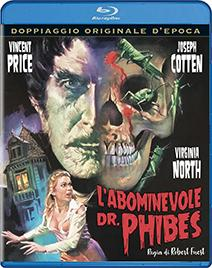 L'ABOMINEVOLE DR.PHIBES - BLURAY