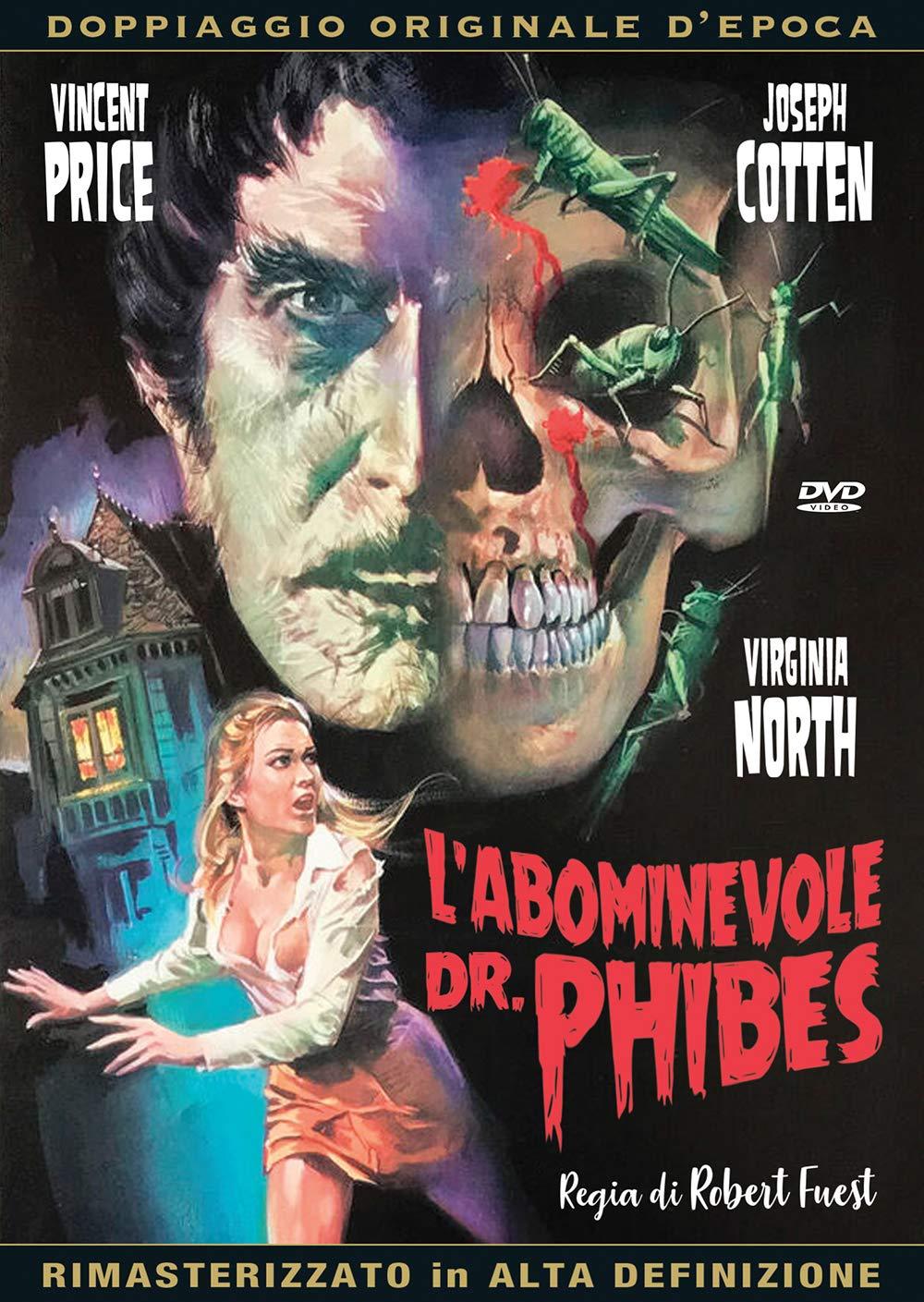 L'ABOMINEVOLE DR.PHIBES (RIMASTERIZZATO IN ALTA DEFINIZIONE) (DV