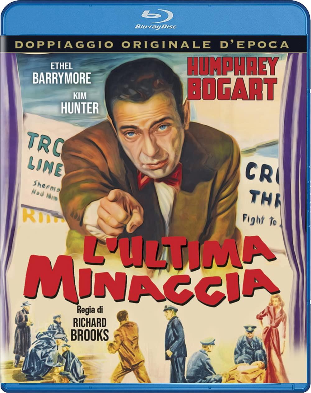L'ULTIMA MINACCIA - BLURAY