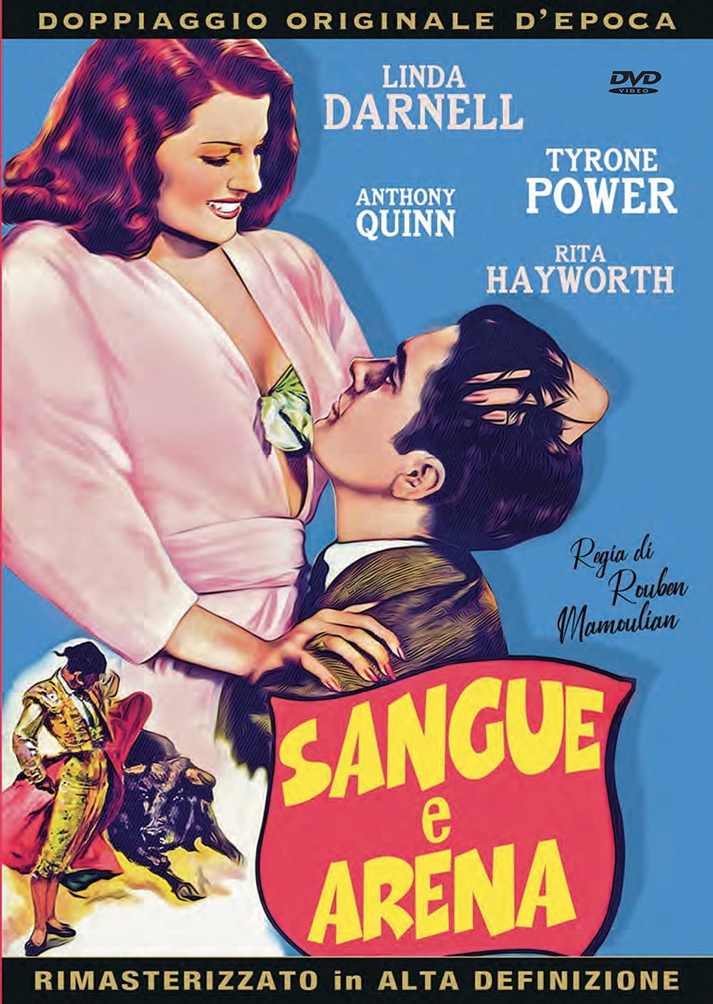 SANGUE E ARENA (DVD)