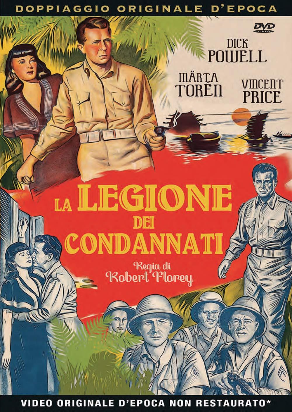 LA LEGIONE DEI CONDANNATI (DVD)
