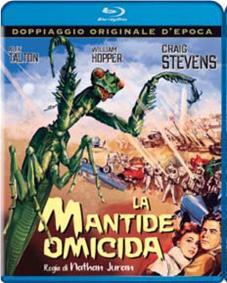 LA MANTIDE OMICIDA - BLU RAY