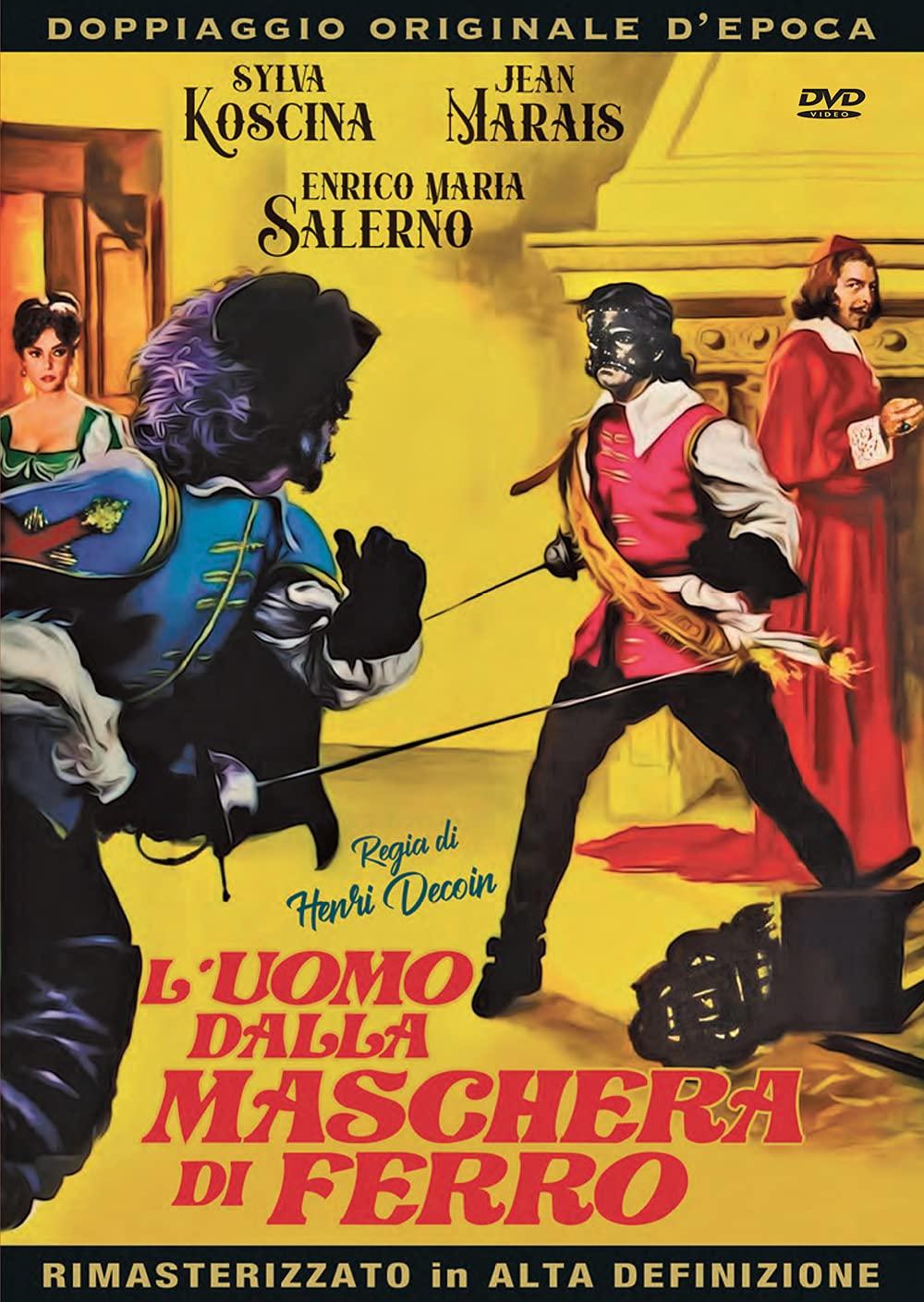L'UOMO DALLA MASCHERO DI FERRO (DVD)