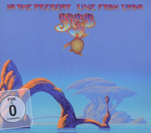 YES - IN THE PRESENT. LIVE FROM LYON -2CD+DVD (CD)