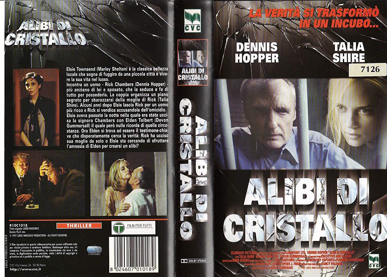 ALIBI DI CRISTALLO - USATO EX NOLEGGIO (VHS)