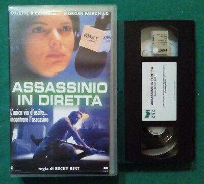 ASSASSINIO IN DIRETTA - USATO EX NOLEGGIO (VHS)