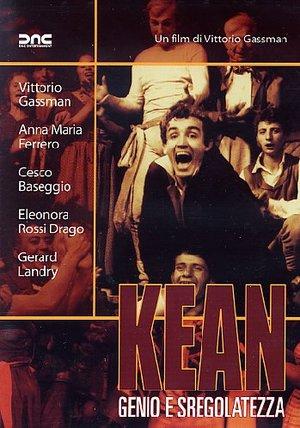 KEAN GENIO E SFREGOLATEZZA (SCHEDA DA ANNULLARE) (DVD)