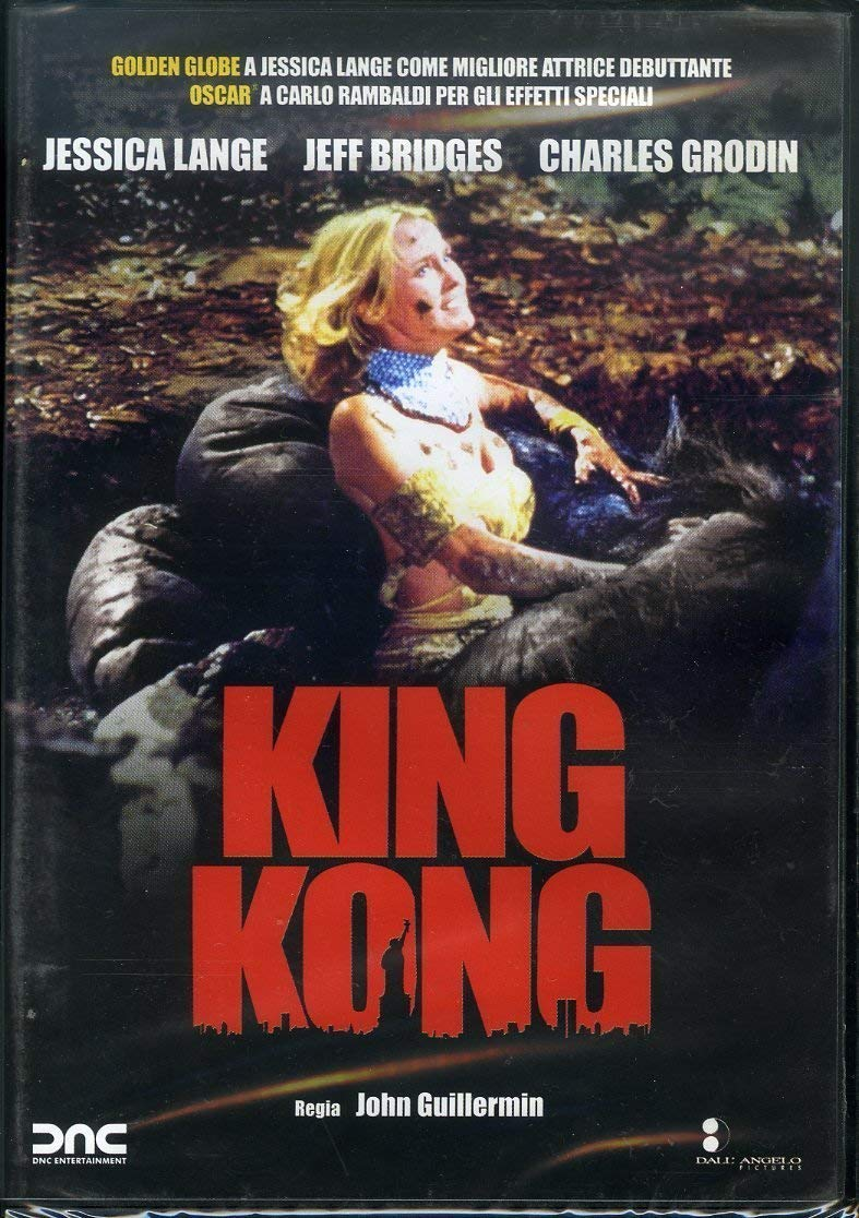 KING KONG - 1976 (DVD)
