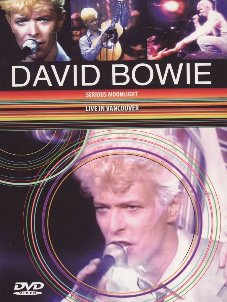 DAVID BOWIE - SERIOUS MOONLIGHT - LIVE IN VANCOUVER (DVD)