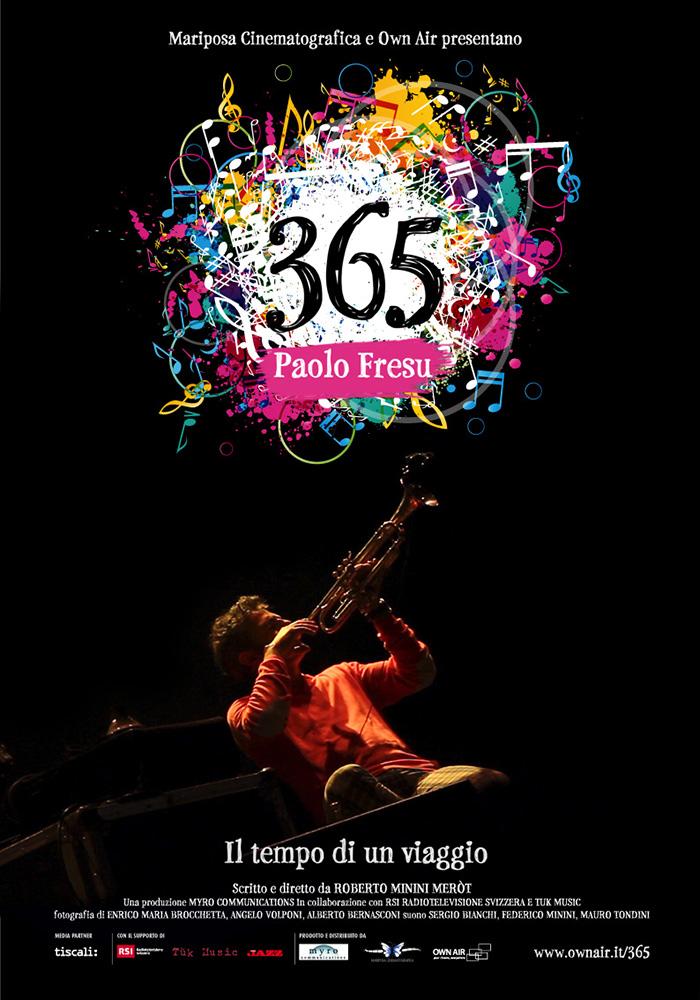 365 PAOLO FRESU IL TEMPO DI UN VIAGGIO (DVD)