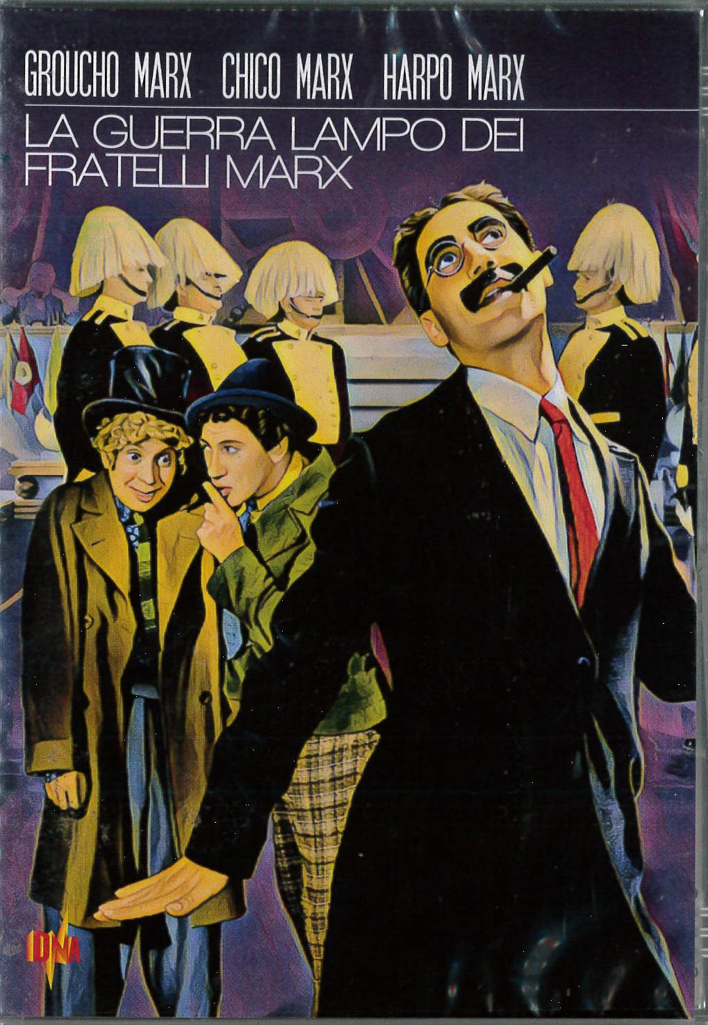 LA GUERRA LAMPO DEI FRATELLI MARX (DVD)