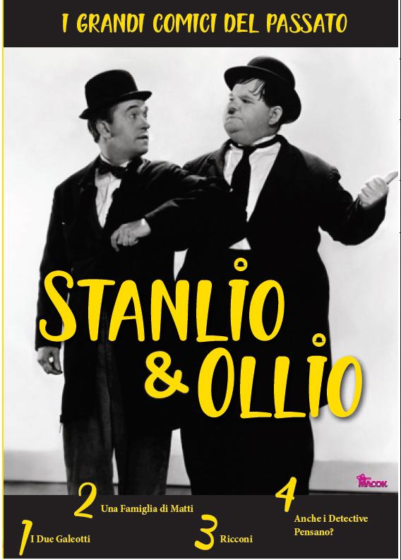STANLIO & OLLIO - COMICHE INDIMENTICABILI (DVD)