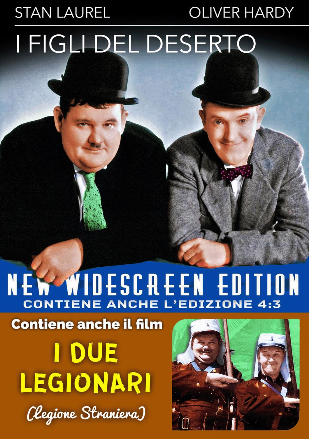 I FIGLI DEL DESERTO + I DUE LEGIONARI (DVD)
