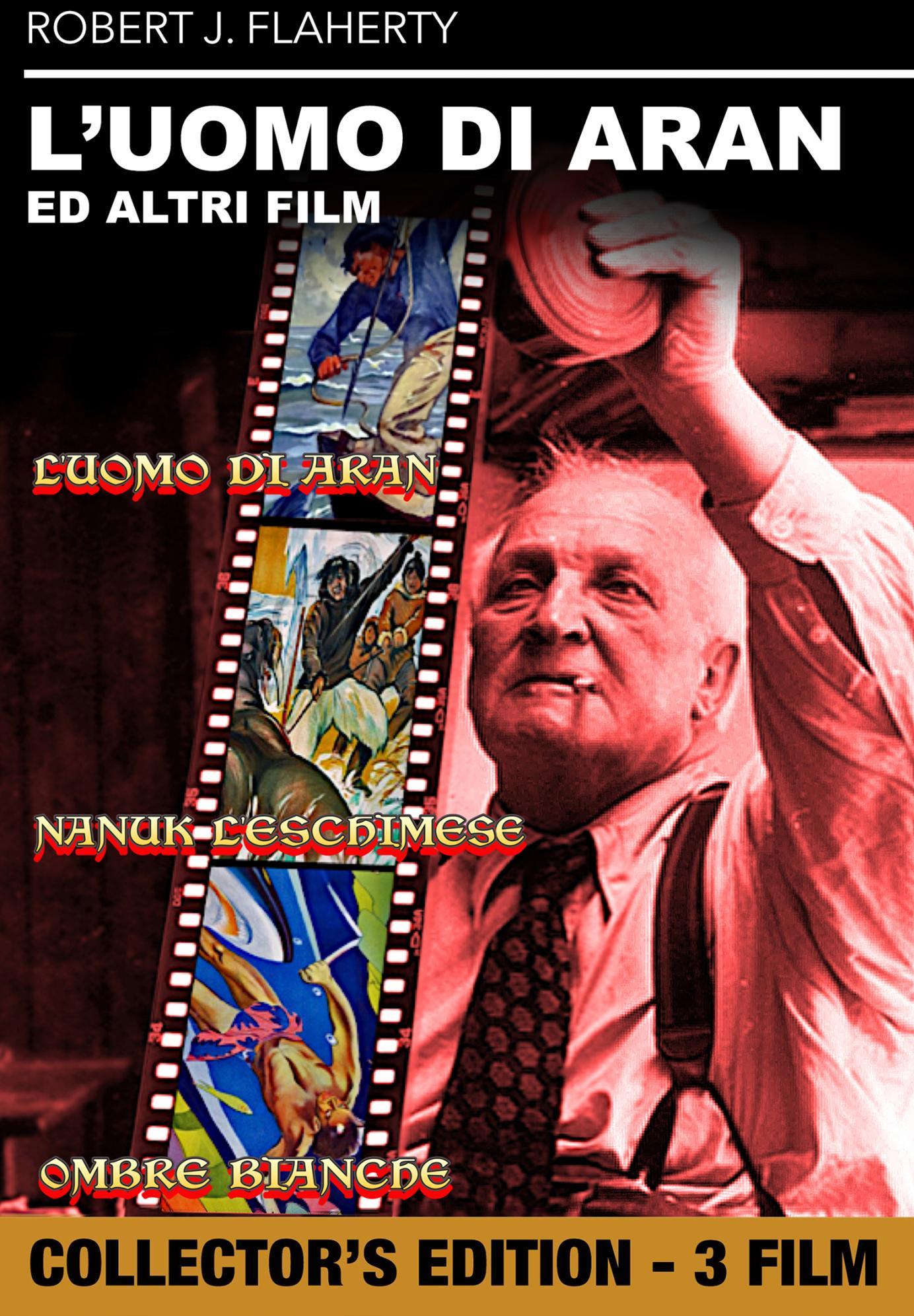 L'UOMO DI ARAN / NANUK L'ESCHIMESE / OMBRE BIANCHE (DVD)