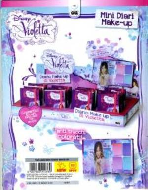 VIOLETTA MINI DIARIO MAKE-UP