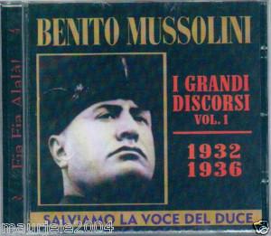 I DISCORSI DI BENITO VOL.1 (CD)