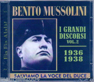 I DISCORSI DI BENITO VOL.2 (CD)