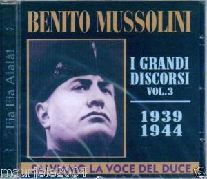I DISCORSI DI BENITO VOL.3 (CD)