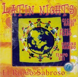 LATIN NIGHT EL RITMO SABROSO (CD)