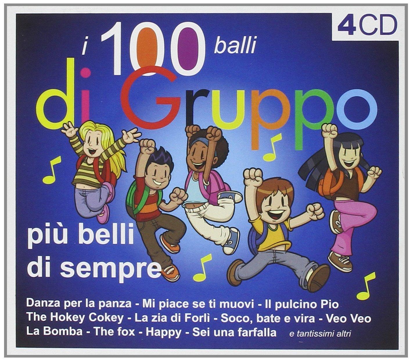 100 BALLI DI GRUPPO -4CD (CD)