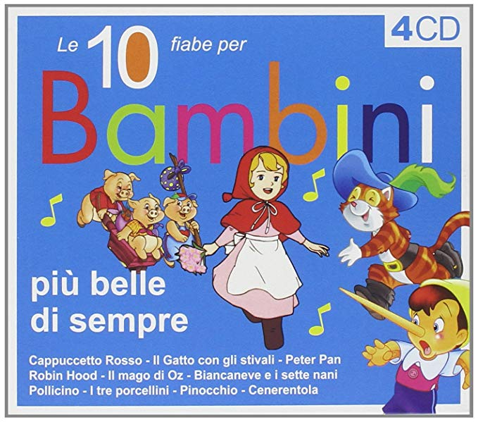10 FIABE PER BAMBINI (4 CD) (CD)