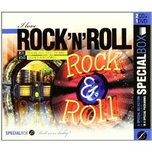 SPECIAL BOX - I LOVE ROCK AND ROLL -2CD+1DVD LEGEND OF ROCK'N RO