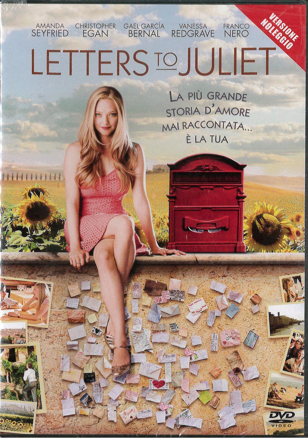 LETTERS TO JULIET - VERSIONE NOLEGGIO (DVD)