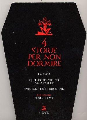 COF.4 STORIE PER NON DORMIRE VOL.1 (DVD)