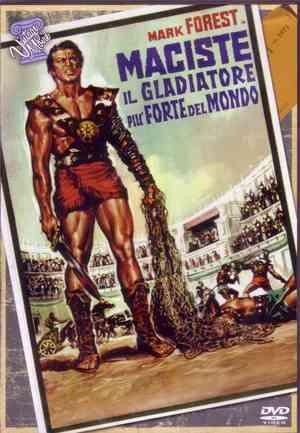 MACISTE IL GLADIATORE PIU' FORTE DEL MONDO (1962 ) (DVD)