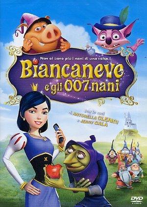 BIANCANEVE E GLI 007 NANI (DVD)