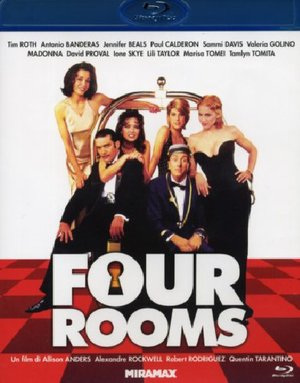 FOUR ROOMS (BLU-RAY)
