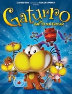 GATURRO - UN GATTO SUPERSTAR (DVD)