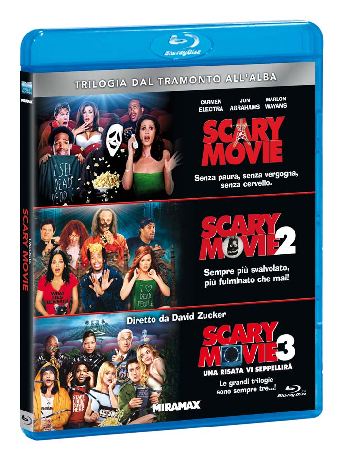 COF.SCARY MOVIE TRILOGIA (3 BLU-RAY)