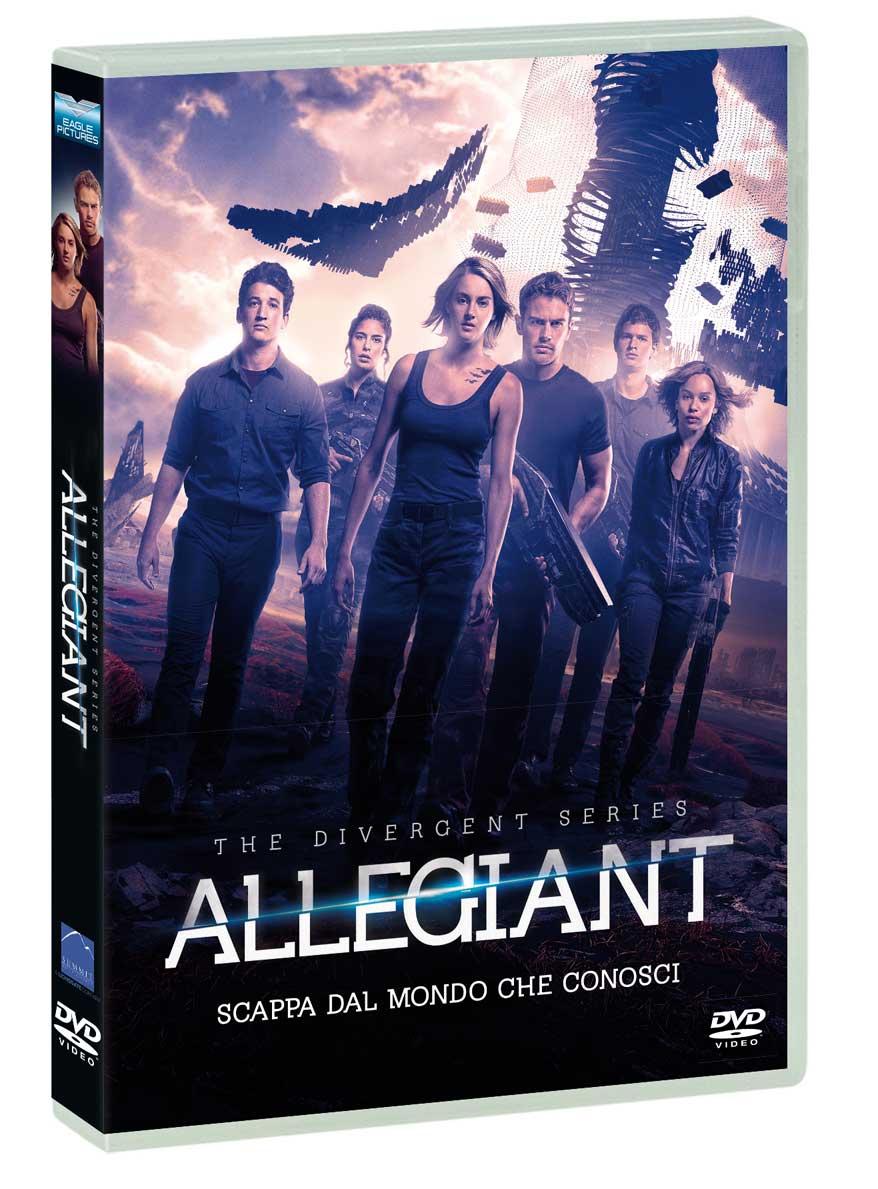 ALLEGIANT - THE DIVERGENT SERIES (DVD)
