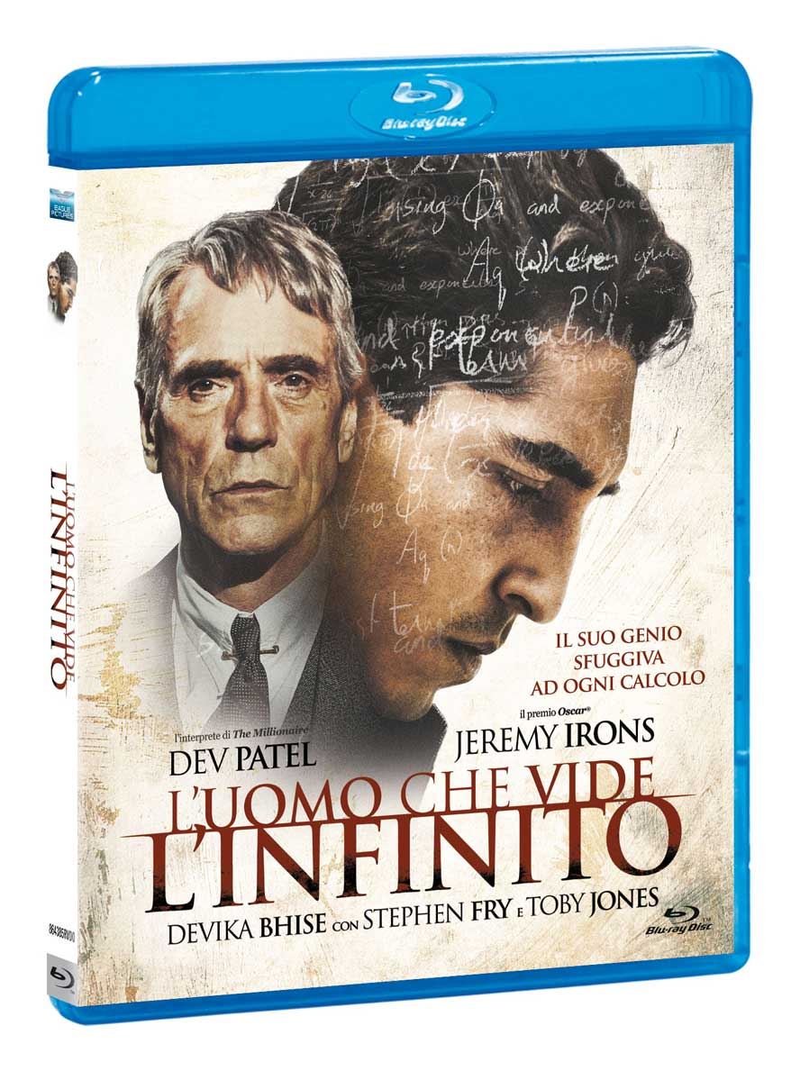 L'UOMO CHE VIDE L'INFINITO (BLU-RAY)