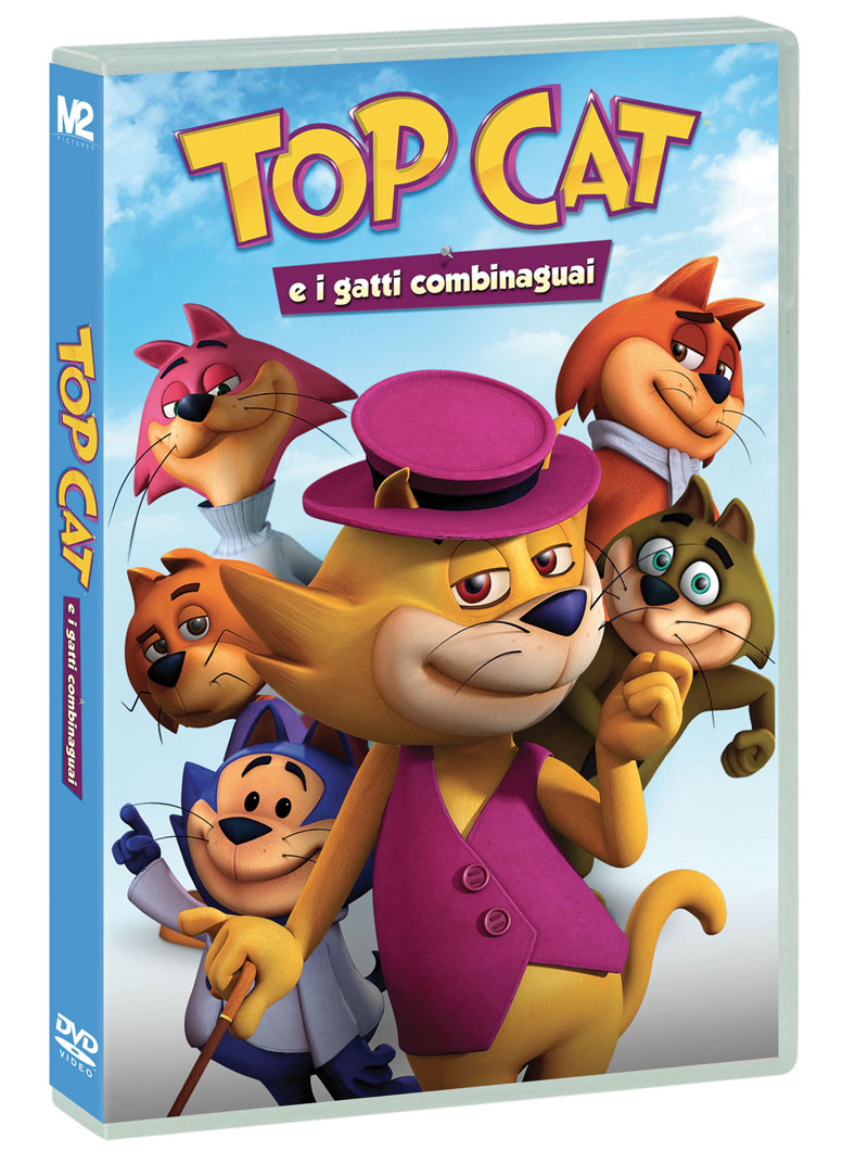 TOP CAT E I GATTI COMBINAGUAI (DVD)